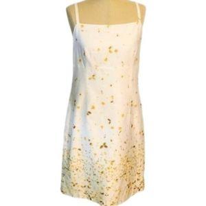 ANN TAYLOR LOFT FLORAL SHEATH DRESS SIZE 6